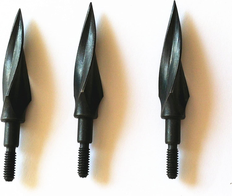 Arrowhead 100 Grain Archery Broadheads Hunting Arrow Tips for Crossbow Bolts
