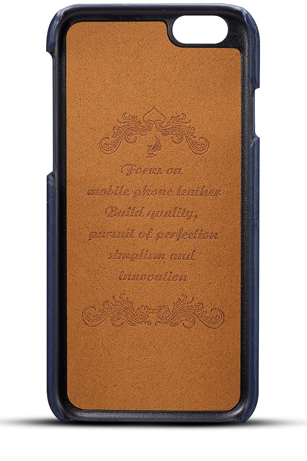iPhone 6S Plus//6 Plus Wallet Phone Card Holder Case Slim Leather Back Cover