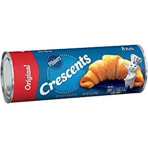 Pillsbury Crescents, Original, 8 Rolls, 8 oz. Can