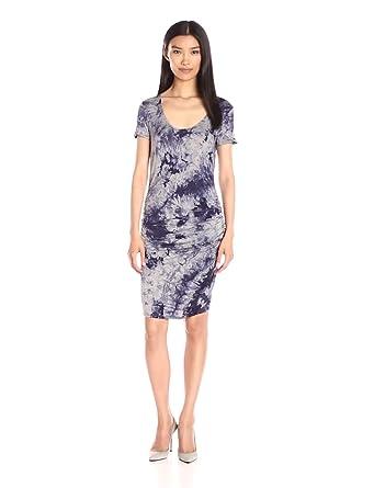 Amazon.com: Three Dots Women's Bruna, Night Iris, Small ...