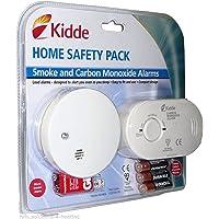 Detector de monóxido de carbono y humo alarma