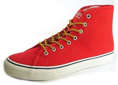 74aeef1cd36 Vans Men s Sk8-hi Binding Ca Skateschuhe Sneakers Rot Red 6 UK ...