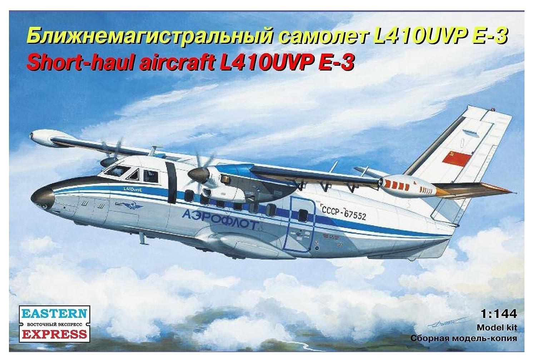 Eastern Express 144100 Modellbausatz Let L-410UVP E3 Short-haul Aircraft, Aeroflot Eastern Express_EE144100