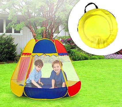 Tente de jardin Enfant- Forme Hexagonale avec 2 fenêtres ...