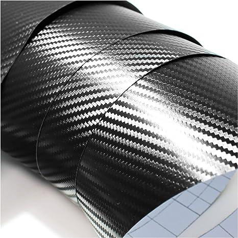 4D Carbon Folie f/ür Ihren 3 Tasten Schl/üssel