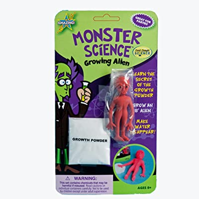 Be Amazing Toys Growing Alien Blister Card: Toys & Games