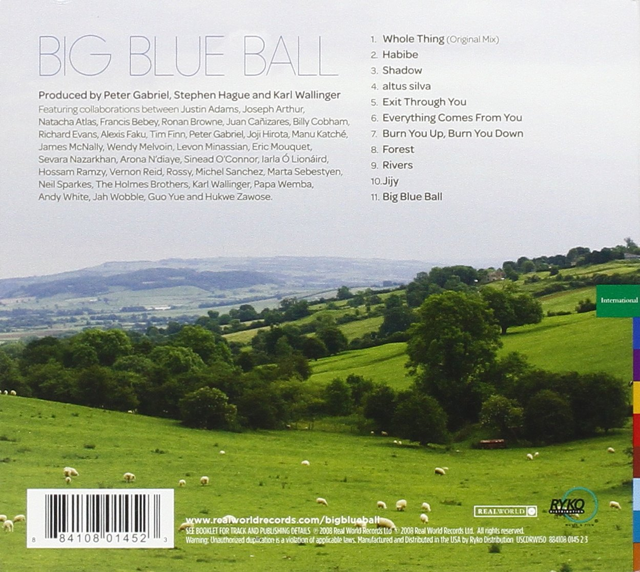 Big Blue Ball by REAL WORLD RECORDS (Image #2)