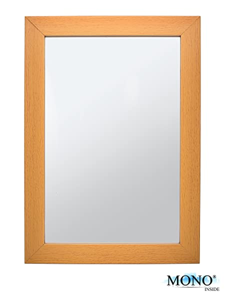 Amazon.com: MONOINSIDE Small Framed Decorative Wall Mounted Mirror ...