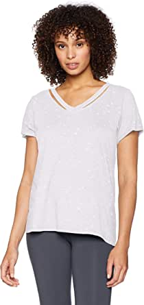 Marc New York Performance Women's Cold-Clavicle Vneck Tee