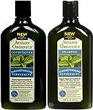 Avalon Organics Peppermint Revitalizing Shampoo & Conditioner, 11 oz Each