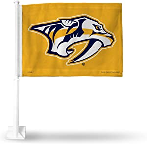 Rico Industries NHL Fan Shop Car Flag with Included Pole