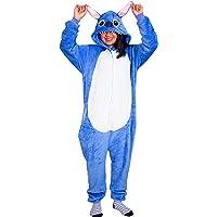 IBAX® Pijama para niños y Adultos, Ropa para Dormir de Animales y Personajes.