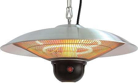 Indoor//Outdoor Ceiling Electric Patio Heater Black Ener-G
