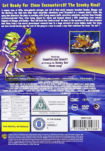 Amazon.com  Scooby-Doo   The Alien Invaders  DVD   2003   Movies   TV 0db94977d