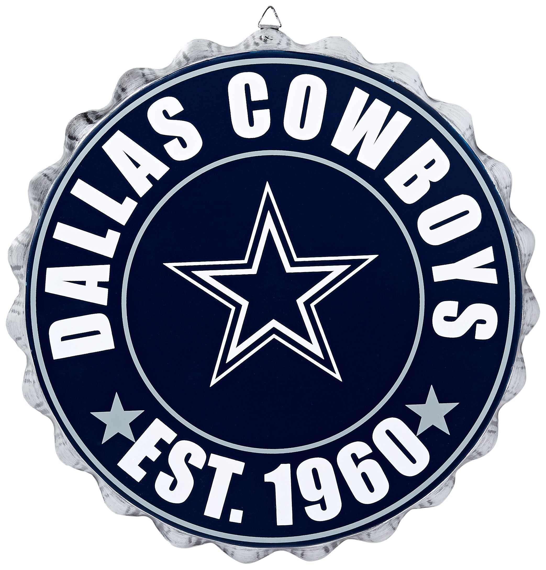 Dallas Cowboys 2016 Bottle Cap Wall Sign