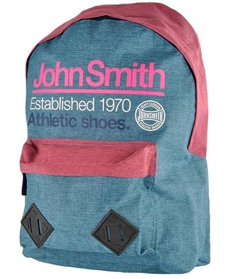0041cbc1dc7 JOHN SMITH MOCHILA M-17204 AZUL VIGORE  Amazon.es  Zapatos y complementos