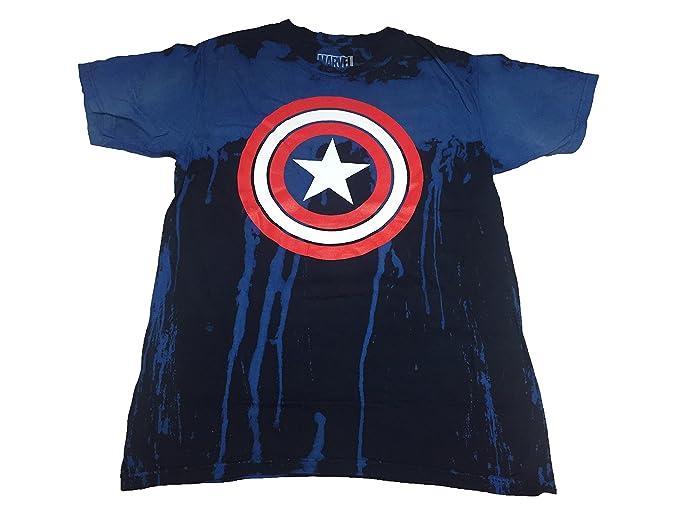 Playera con el Logotipo del Capitán América de Marvel 1c317d7bc1e5f