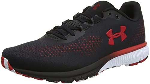 cheaper 302b9 68de2 Under Armour UA Charged Spark, Scarpe Running Uomo , Nero (Black  Red