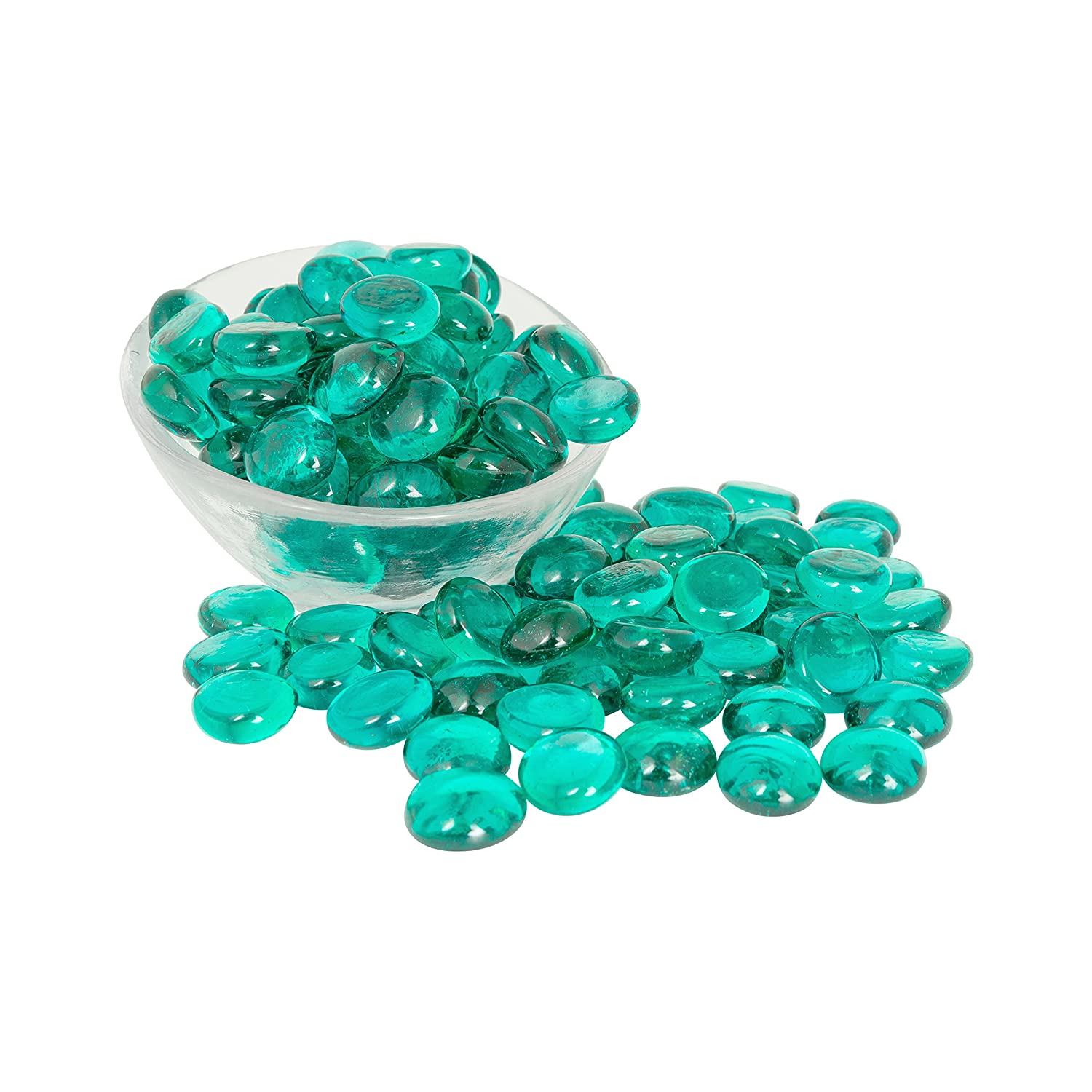 Amazon teal glass gems 1 lbs fills 1 14 cups vol non amazon teal glass gems 1 lbs fills 1 14 cups vol non toxic lead free vase filler table scatter aquarium filler beautiful smooth fun reviewsmspy