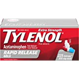Tylenol Extra Strength Rapid Release Gels with Acetaminophen, Pain Reliever & Fever Reducer, 225 ct