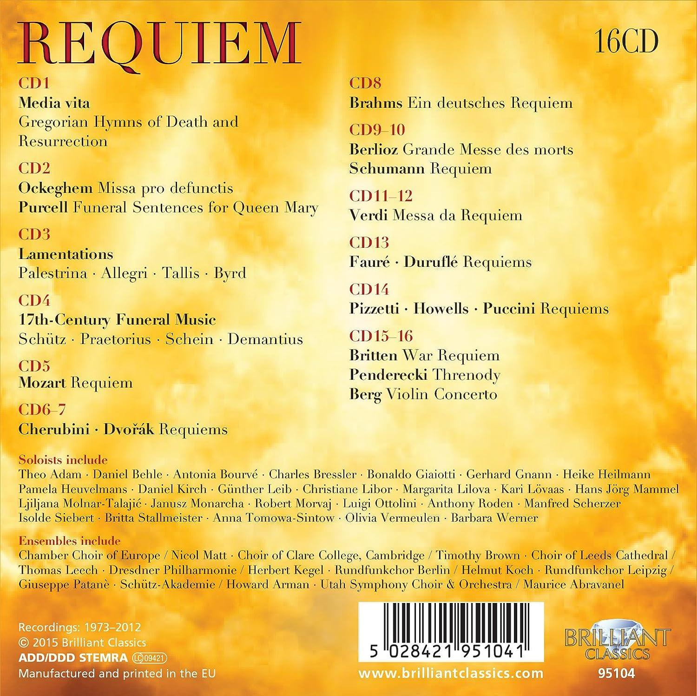 Requiem - I Più Importanti Requiem E: Compilation: Amazon.it: Musica