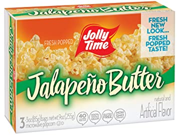Jolly tiempo Jalepeno mantequilla caliente Gourmet PICANTE ...