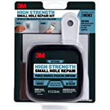 3M High Strength Small Hole Repair Kit with 8 Ounce Spackling Compound, Self-Adhesive Patch, Putty Knife, and Sanding Pad