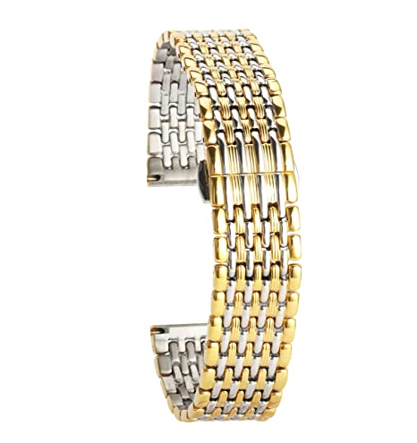 3b842601c86 bracelets de montres en acier inoxydable pour remplacer les hommes ruban  bracelet en or