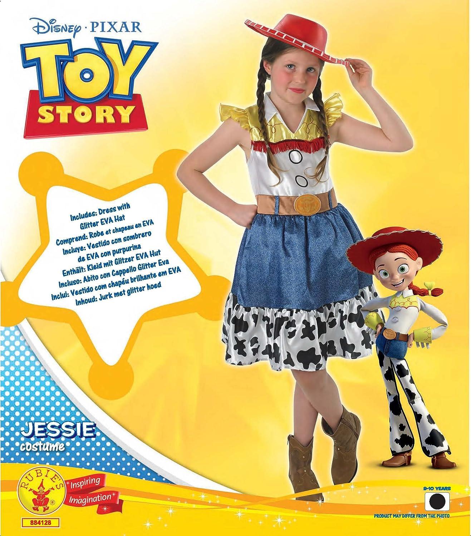 Rubie disfraz oficial de disney toy story de jessie con falda juvenil para  niños de años 48e76d2530c