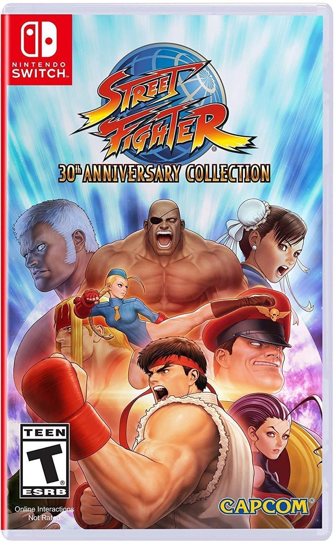 Amazon Com Street Fighter 30th Anniversary Collection Nintendo