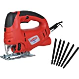 Dobetter JS65 6.5Amp Variable Speed Orbital Jig Saw with Laser and 6-Pieces Blades