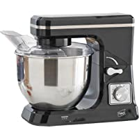 Neo® Food Baking Electric Stand Mixer 5L 6 Speed Mixing Bowl Splash Guard 800W Includes Beater, Dough Hook & Whisk