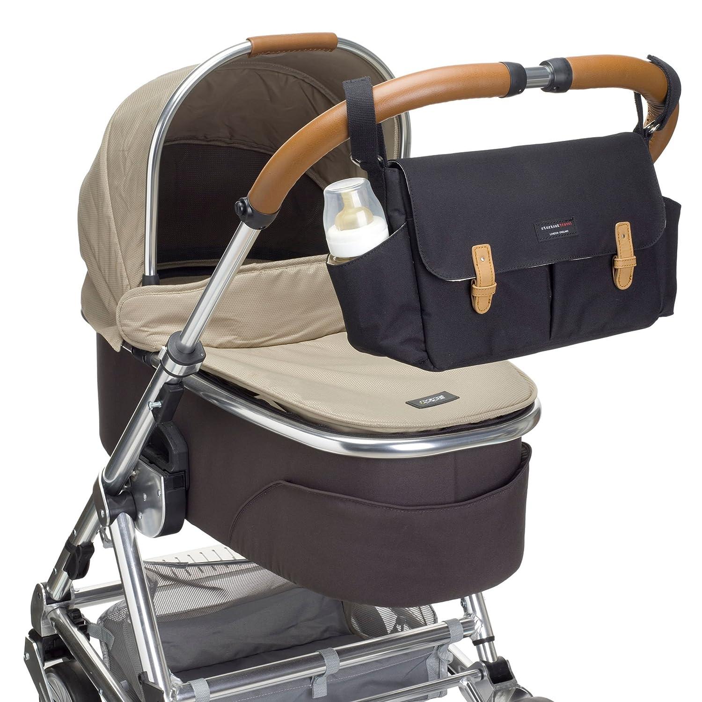 Amazon.com : Storksak Stroller Organizer, Black : Baby
