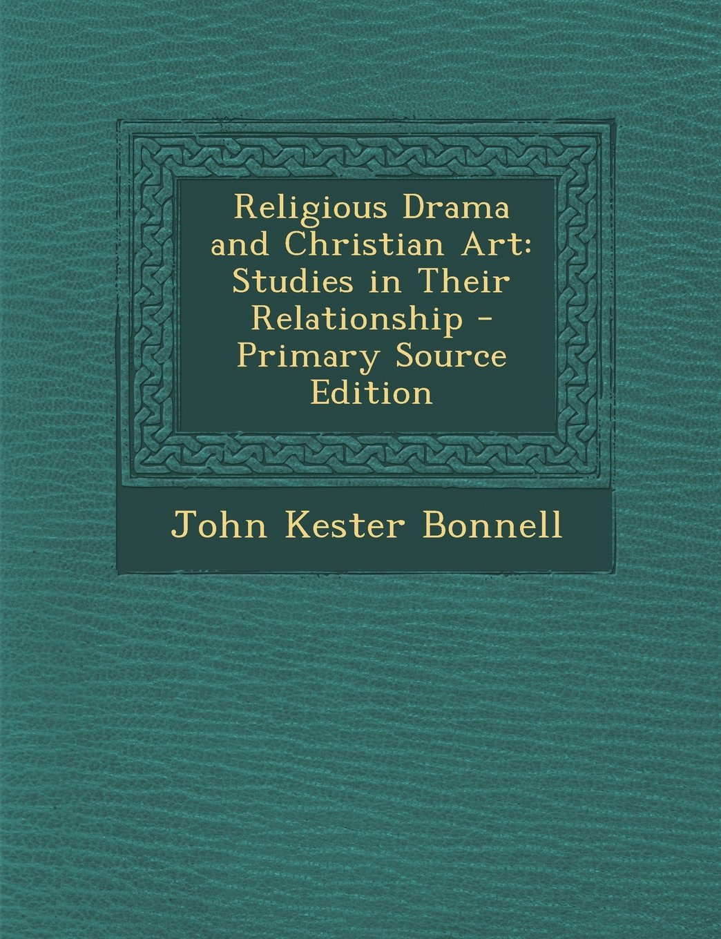 Download Religious Drama and Christian Art: Studies in Their Relationship PDF