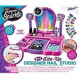 Cra-Z-Art Shimmer N' Sparkle - Crazy Lights Real 8-in-1 Nail Design Studio