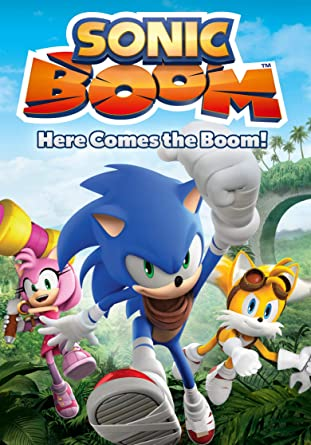 Amazon com: Sonic Boom: Here Comes The Boom!: Roger Craig Smith