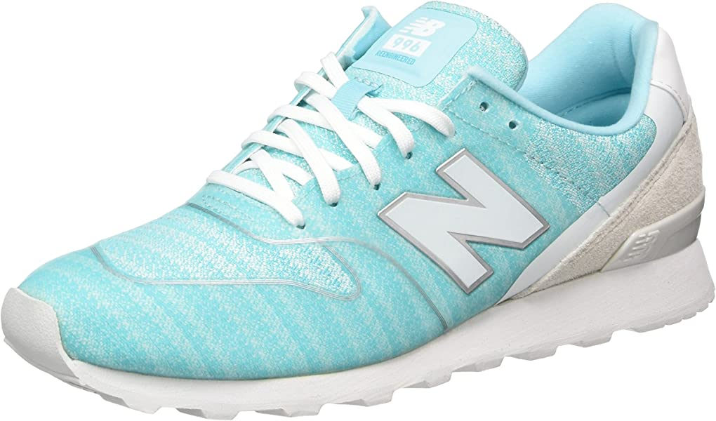 | New Balance Women's WR996 Trainers, Blue (Blue