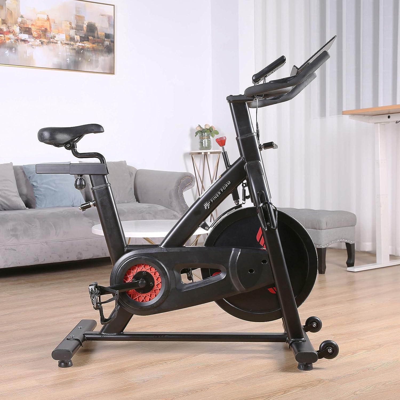 Finer Form Bicicleta de Ejercicio Interior para Gimnasio en casa ...