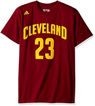 NBA Cleveland Cavaliers Lebron James Mens #23 U Series Road N&N Tee, X-