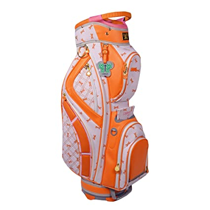 Amazon.com: Lilybeth Bolsa de golf, color naranja Libélula ...
