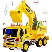 HERSITY Camiones de Juguetes Excavadora Coches Vehiculos
