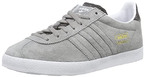 adidas Gazelle Og, Zapatillas Hombre, Gris (Ch Solid Grey/Ch Solid Grey/Ftwr White), 46 2/3: Amazon.es: Zapatos y complementos