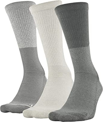 Under Armour Adult Phenom Solid Crew Socks, 3-Pairs