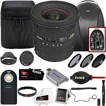 Focus Sigma 10 - 20 mm f/3,5 EX DC HSM ELD SLD Objetivo Gran ...