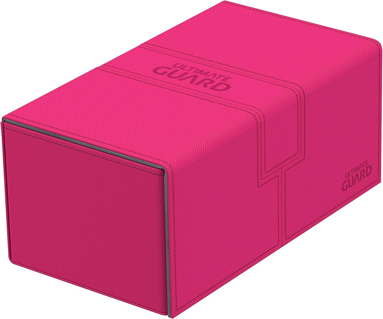 Pink Ultimate Guard UGD010849 Twin Flip N Tray Deck Case 200 XenoSkin Card Game