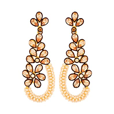14768975191fd Buy Adwitiya Collection Pearl Earrings for Women Online at Low ...