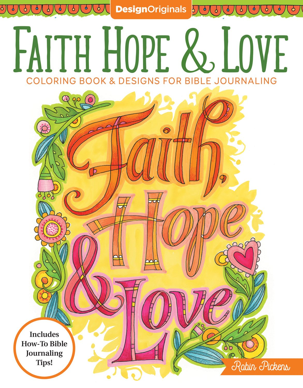 Amazon.com: Faith, Hope, and Love Coloring Book (Creative Faith ...