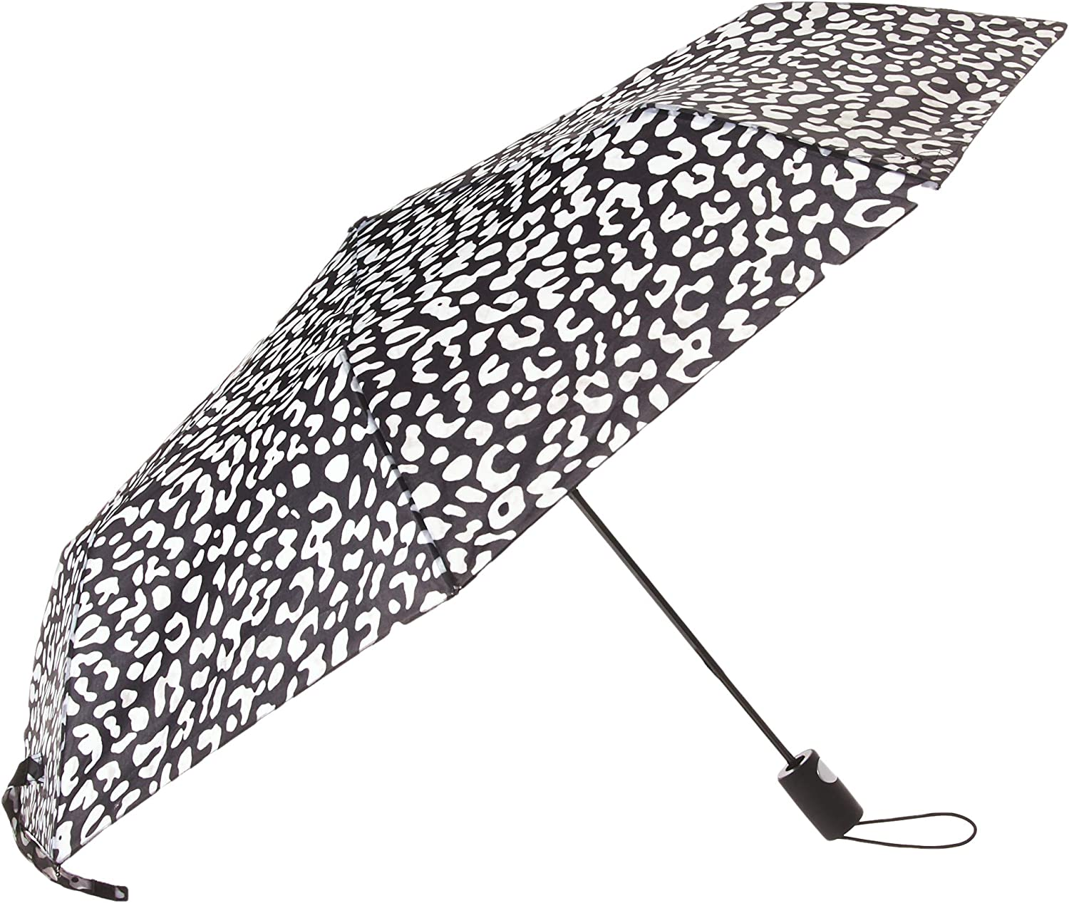 "42/"" Arc Butterfly Print Super Mini Rain Umbrella RainStoppers Rain//Sun UV"