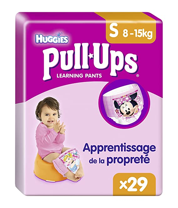 Huggies Pull-Ups Braguitas de Aprendizaje para Niña, Talla 4-29 Unidades: Amazon.es: Amazon Pantry