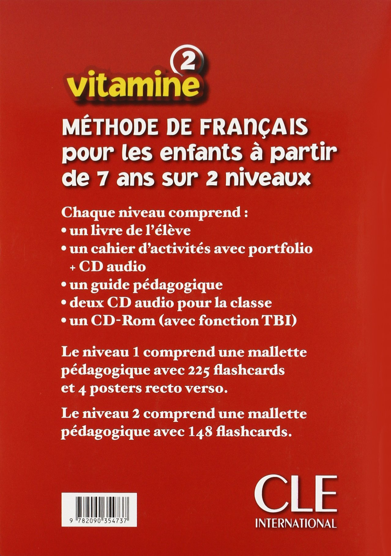Vitamine Cahier d'Activites + CD Audio + Portfolio 2 (French Edition)